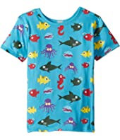 PBS KIDS® - Ocean Pattern Reversible Tee (Toddler/Little Kids)