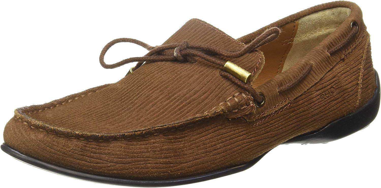 Ruosh Men's Tan Loafers-9 UK India (43 EU)(SS18-131-02B)