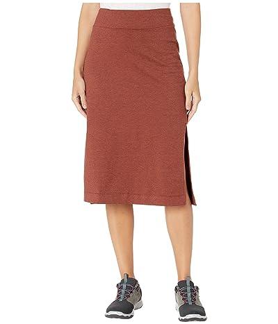 Toad&Co Samba Paseo Midi Skirt (Paprika) Women