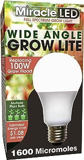 MiracleLED 604610 Full Spectrum Multi-Plant Grow Light, Single Pack, Full Spectrum Replace 100W
