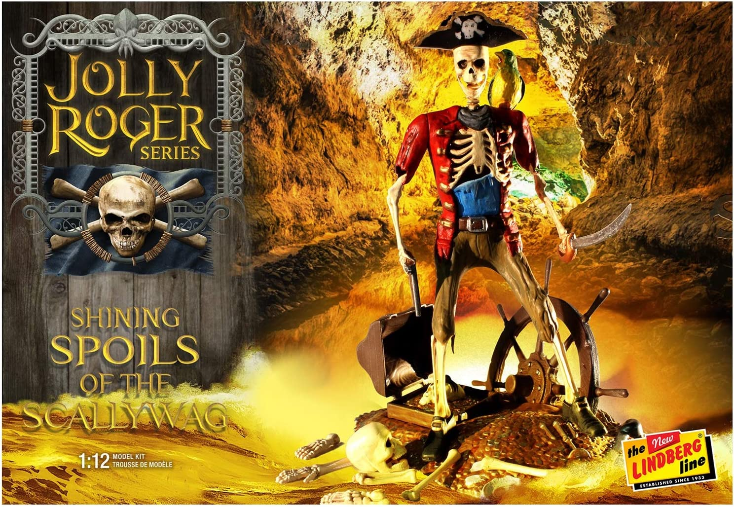 Lindberg - Jolly Roger Series: Scallyw Spoils Shining specialty shop Memphis Mall The of