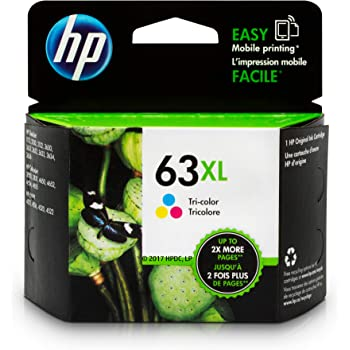 HP 63XL | Ink Cartridge | Tri-color | F6U63AN