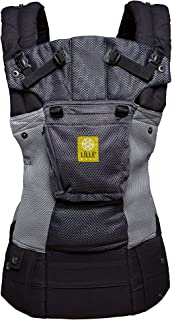LÍLLÉbaby Complete Airflow 6-in-1 Ergonomic Baby & Child Carrier, Charcoal/Silver..