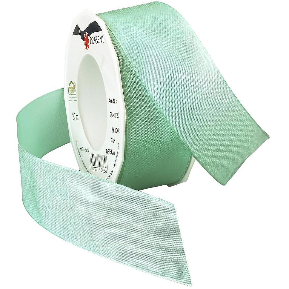 Morex Ribbon Dream Wired Taffeta Ribbon Spool, 1-1/2-Inch by 22-Yard, Seafoam
