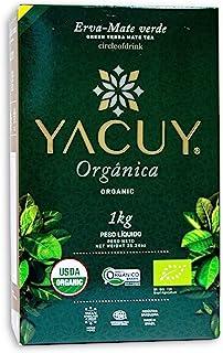 Circle of Drink - Yacuy Certified Organic Green Yerba Mate Tea - Gourmet Erva Mate Chimarrao - Super Fresh Vacuum Sealed -...