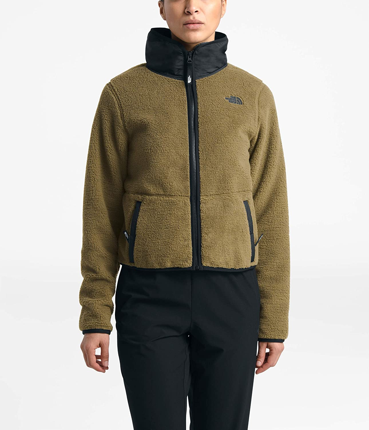 The North Face Women S Dunraven Sherpa Crop Clothing