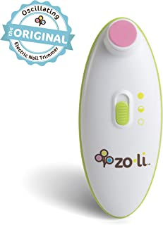 ZoLi BUZZ B | Electric Baby Nail Trimmer, Baby Nail File