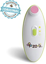 ZoLi BUZZ B | Electric Baby Nail Trimmer, Baby Nail File