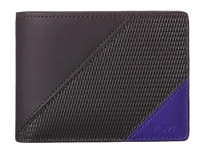 Tumi Nassau Double Billfold (Blue Pieced) Bill-fold Wallet