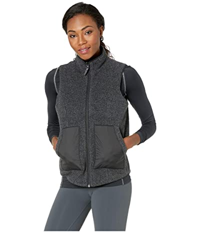 Smartwool Anchor Line Reversible Sherpa Vest (Charcoal) Women