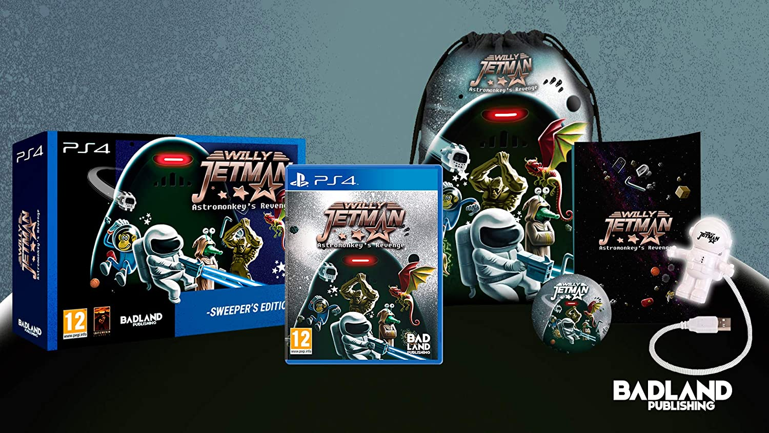 List Ultra-Cheap Deals price Willy Jetman: Astromonkey's Revenge Sweeper - Edition PS4