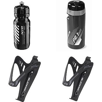 Raceone Kit Race X3M 100/% Made in Italy : Portaborraccia X3 Borraccia XR1 Ideale per Bici Race//MTB//Gravel//Trekking Bike 2 PCS Colore: Nero//Grigio