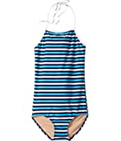 Toobydoo - Multi Blue Stripe One-Piece (Infant/Toddler/Little Kids/Big Kids)