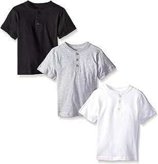 Boys 3 Piece Pack Henley Shirt