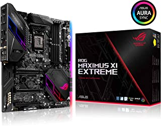 ASUS ROG Maximus XI Extreme Z390 LGA1151 (Intel 8th and 9th Gen) EATX DDR4 HDMI M.2 USB 3.1 Gen2 802.11 AC Wi-Fi Gaming Motherboard