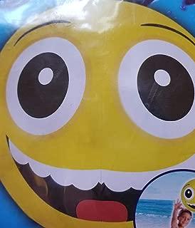 "Greenbrier International Two Splash-n-Swim 20"" Emoji Beach Balls - Broad Smile and Hearts for Eyes"