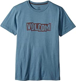 Volcom Kids - Edge Short Sleeve Tee (Big Kids)