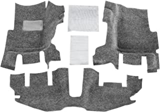BedRug Jeep Kit - BedRug BRTJ97FNC fits 97-06 TJ/LJ FRONT 3PC FLOOR KIT (W/O CENTER CONSOLE) - INCLUDES HEAT SHIELDS