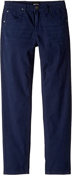 Hudson Kids Jagger Slim Straight Twill in Moroccan Blue (Big Kids)