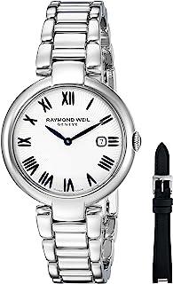 Raymond Weil - Reloj Analogico para Mujer de Cuarzo con Correa en Acero Inoxidable 1600-ST-00659