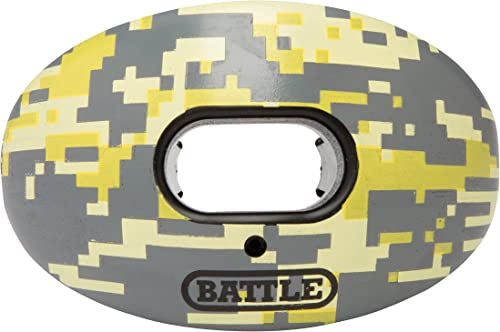 Battle Oxygen Lip Protector Mouthguard – Football and Sports Mouth Guard – Maximum Oxygen – Mouthpiece Fits With or W...