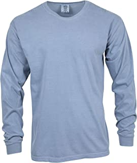 Men's Adult Long Sleeve Tee, Style 6014