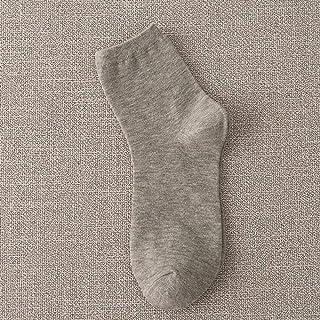 Socks_Fashion Calcetines De Algodón para Hombre Calcetines Deportivos De Algodón De Color Sólido Calcetines Al por Mayor 5 Pares