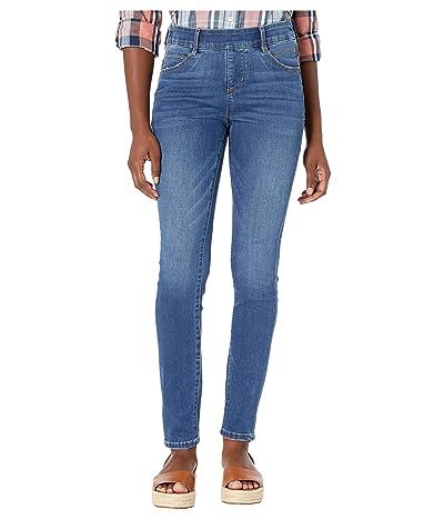 Jag Jeans Petite Petite Bryn Skinny Pull-On Jeans (Weekend Wash) Women