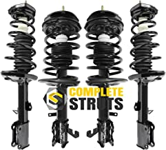 Front & Rear Quick Complete Struts & Coil Spring Assemblies Compatible with 1993-2002 Toyota Corolla Sedan (Set of 4)
