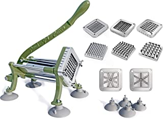 New Star Foodservice 38408 Complete Combo French Fry Cutter, Green