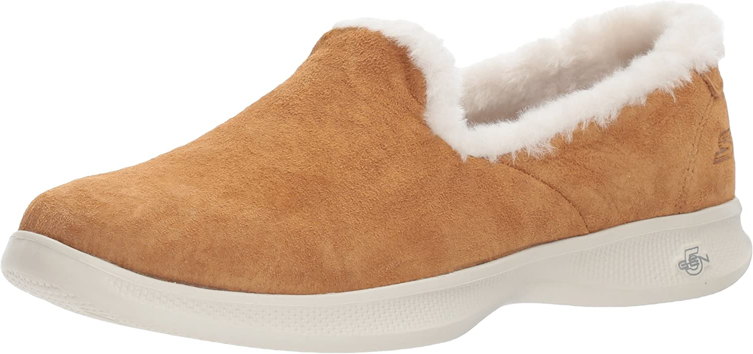 Skechers Performance Women's Go Step Lite-Fuzzies Loafer