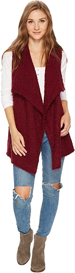 Bobble Fur Vest KS0K5763