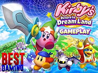 Clip: Kirby's Return To Dreamland Gameplay - Best of Gaming!