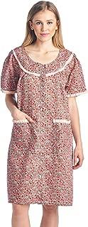 Women's Waltz-Length Snap House Duster Robe