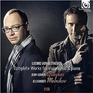 ベートーヴェン : チェロとピアノのための作品全集 (Ludwig Van Beethoven : Complete Works for violoncello & piano / Jean-Guihen Queyras | Alexander...