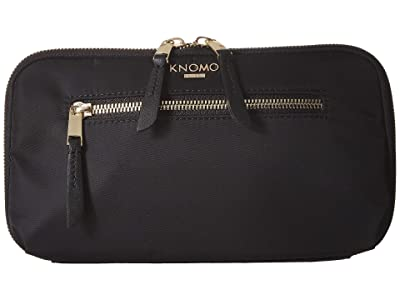 KNOMO London Knomad Travel Wallet (Black) Bags