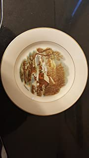 A Home In The Wilderness Plate by Currier & Ives