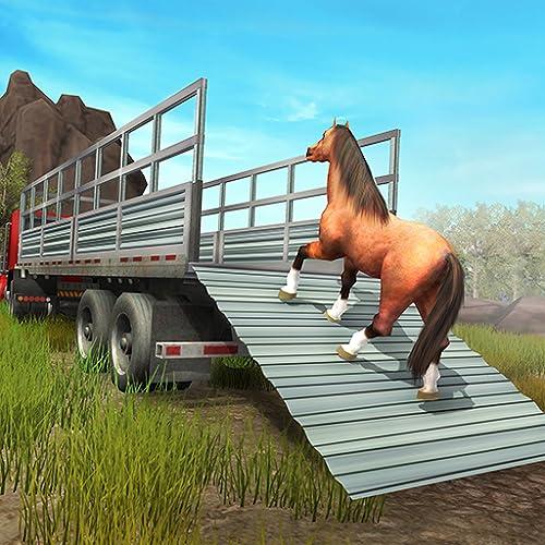 Juego de simulador de transporte de caballos: My Riding Horse