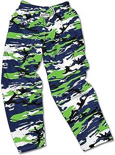 c8b588fe3c Zubaz Men s Officially Licensed NFL Camo Print Team Logo Casual Active Pants