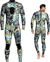 Dyung Tec Wetsuits Mens 3MM Camo Neoprene Scuba Diving Unisex One Piece Sport Skin Spearfishing Full Suit