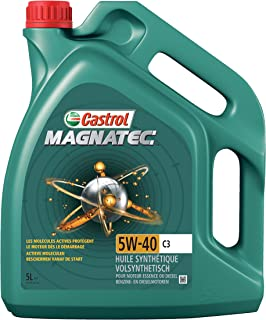 Castrol 151B3B Huile Moteur Magnatec 5W-40 C3, 5 L, Marron