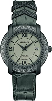 Versace DV25 Automatic Grey Dial Unisex Watch
