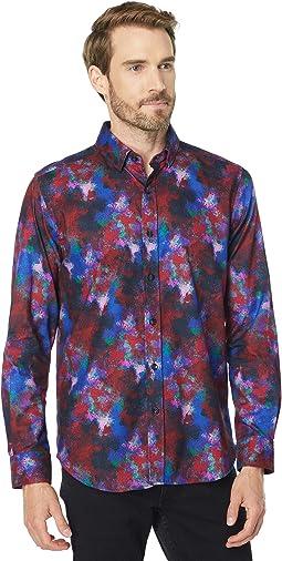Lantern Long Sleeve Woven Shirt