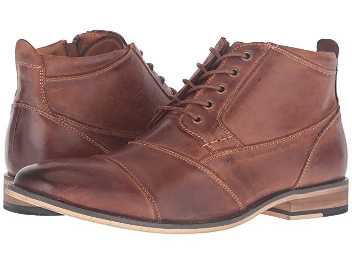 Vintage Boots, Retro Boots Steve Madden Jabbar Dark Tan Mens Lace up casual Shoes $99.95 AT vintagedancer.com