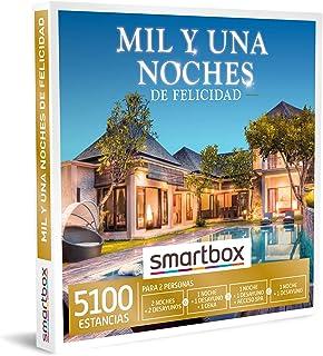 comprar comparacion SMARTBOX - Caja Regalo - Mil y una Noches de Felicidad - Idea de Regalo - 1 Noche con Desayuno y Cena o Acceso SPA o 1 o 2...