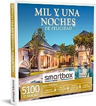 SMARTBOX - Caja Regalo - Mil y una Noches de Felicidad - Idea de Regalo - 1 Noche con Desayuno y Cena o Acceso SPA o 1 o 2 Noches con Desayuno para 2 Personas