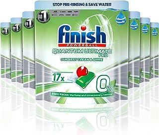 Finish 0% Dishwasher tablets, 119 tablets (17x7)