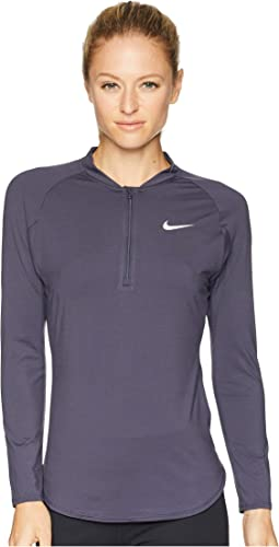 Court Pure Half-Zip Tennis Top