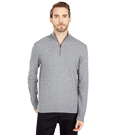 Robert Graham The Vasa Sweater (Medium Grey) Men