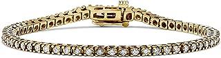 3 Carat Diamond Tennis Bracelet 14k Yellow Gold